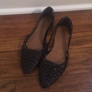 Woven Topshop sandals! Barely worn!